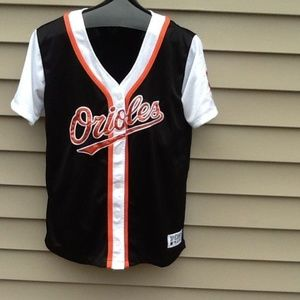 VS Baltimore Orioles Baseball Jersey Pullover sz S